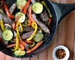 Farmers market steak skillet