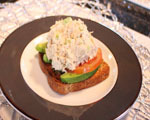 Open-Face Tuna Salad Sandwich