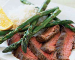 Orange and Soy Beef with Asparagus