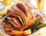 BBQ Ham Slices