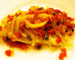 Orange Roughy with Peppers