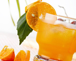 Orange, Vodka and Whiskey Cooler
