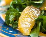 Orange-Watercress Salad with Honey Mustard Dressing