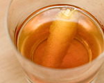 Original Rye and Cognac Sazerac Cocktail
