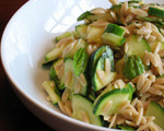 Orzo and Zucchini Salad