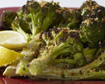 Oven Roasted Broccoli with Spicy Breadcrumbs  