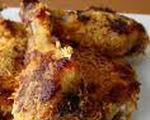 Oven Fried Chicken Drumsticks