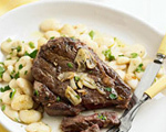 Pan-Fried Garlic Steak