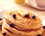 Blueberry nut pancakes 