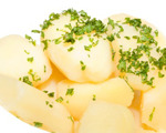 Parsley Potatoes with Butter