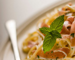 Pasta with Anchovies and Prosciutto