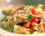 Healthy and easy pasta primavera