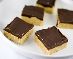 No Bake Peanut Butter Squares