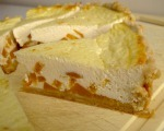 Peach-Mousse Pie