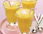 Peaches and Cream Milk Shake