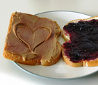 Wild Berry and Nut Butter Sandwich