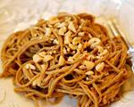 Peanut Butter Soba Noodles