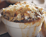 Pear-apple cobbler
