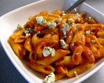 Penne with Fennel, Tomato and Blue Cheese