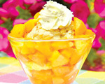 Perfect Peach Shortcake