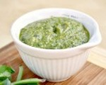 Super easy basil pesto