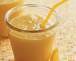 Pineapple and Orange Juice Smoothie