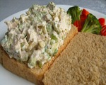 Pineapple Nut Chicken Salad
