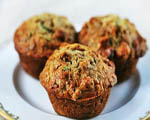 Pineapple Zucchini Muffins