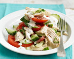 Poached Chicken Salad  