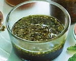 Pomegranate Molasses and Mint Marinade