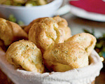 Popovers with Fresh Herbs