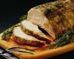 Lemon Garlic Roast Pork