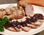 Pork Tenderloin with Cherry and Balsamic Sauce