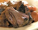 Red wine soaked pot roast recipe