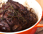 Pot Roast with Porcini Mushrooms and Beer Sauce