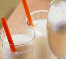 Prosecco Sorbet Float