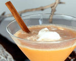 Butterscotch Cinnamon Apple Pie Martini
