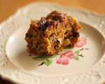 Pumpkin Raisin Coffee Cake
