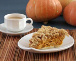 Pumpkin Streusel Coffeecake
