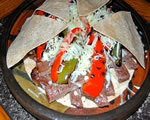 Steak and Blue Cheese Quesadillas