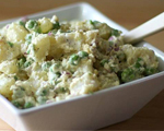 Quick Potato Salad with Tuna and Vegetables