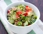 Quinoa, Radish and Bean Feta Salad