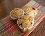 Raisin Pumpkin Muffins