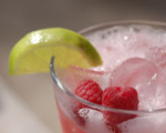 Raspberry Bay Breeze Cocktail