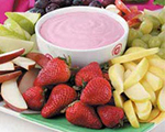 Raspberry Cheesecake Dip