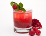 Raspberry Pomegranate Cocktail