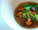 Raw Kombu and Shitake Soup
