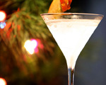 Red Caramel Apple Martini