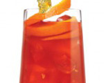 Red Pisco Fizz Cocktail