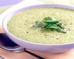 Broccoli, Cheddar and White Bean Soup